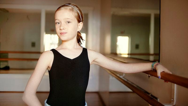 Illustration for article titled This Brilliant 11-Year-Old Ballerina Is Living Proof That Children Can Achieve Anything If We Push Them To The Breaking Point