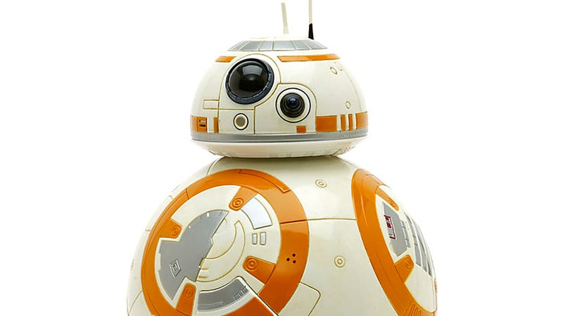 Illustration for article titled It Turns Out There's a Much Cheaper Interactive BB-8 That Rolls and Talks Too