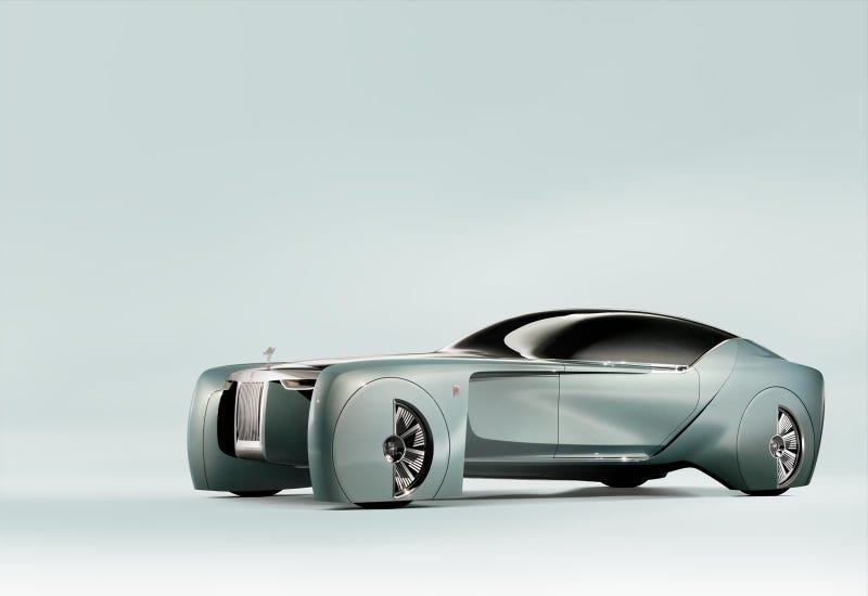 Illustration for article titled Rolls-Royce 103EX Inspiration