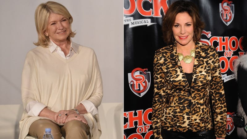 Illustration for article titled Martha Stewart and Luann de Lesseps Got in a Fight, and Now 2015 Can End