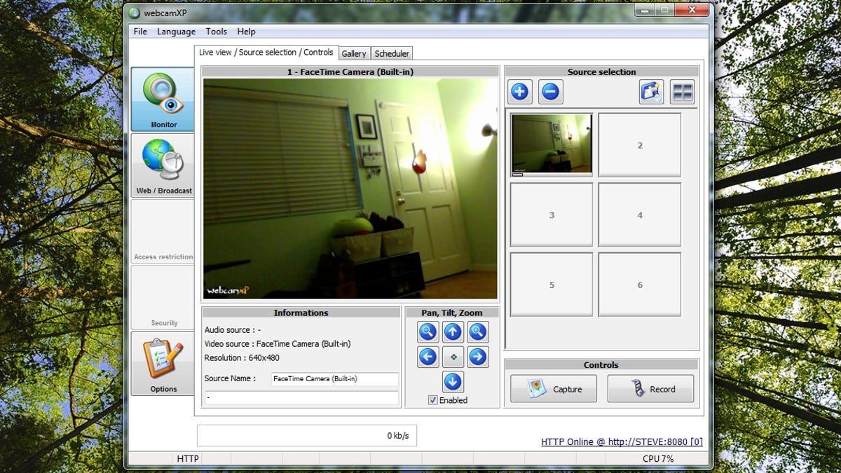 How to Turn Your Webcam Into a Streaming, Motion-Detecting