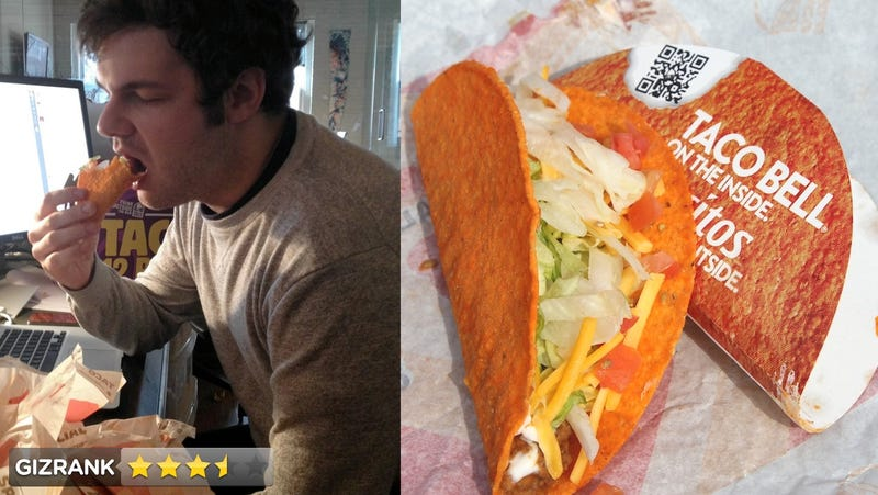 Illustration for article titled Taco Bell Doritos Locos Taco Lightning Review: Love and Vomit (Updated)