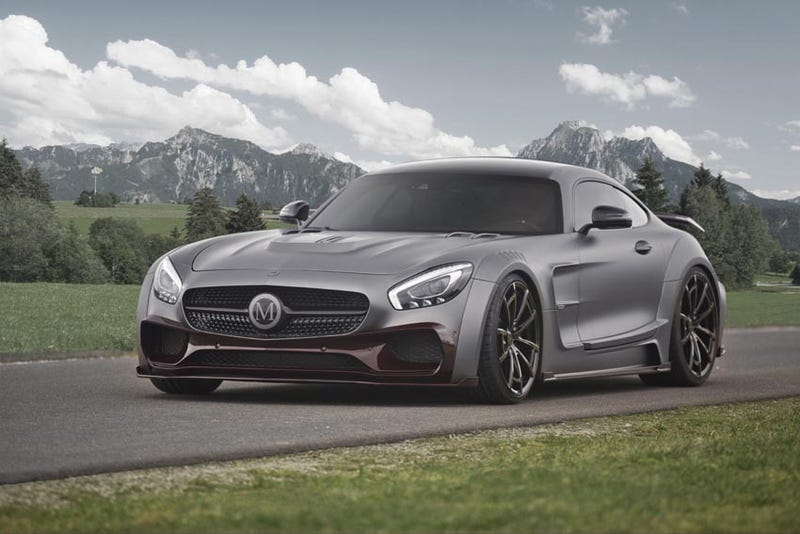 Illustration for article titled Mansory Also Ruined This AMG GT Because There Is No God
