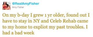Illustration for article titled Amy Fisher Says Celebrity Rehab Exploited Her