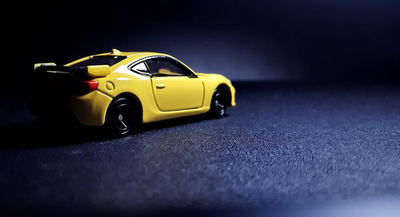 Illustration for article titled A yellow Subaru