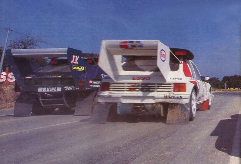 Illustration for article titled Group B rallycross cars are best rallycross cars
