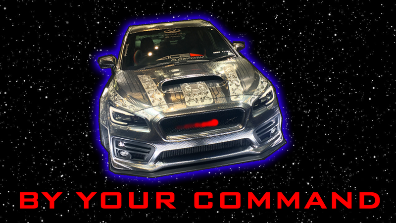 Illustration for article titled The Corazon Subaru WRX Is Fit For A Cylon Battle Fleet