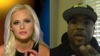 Tomi Lahren and Charlamagne tha GodYouTube Screenshot
