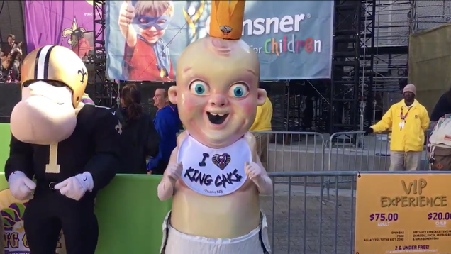 Oh, God, The King Cake Baby Is Out In The Wild Again Today