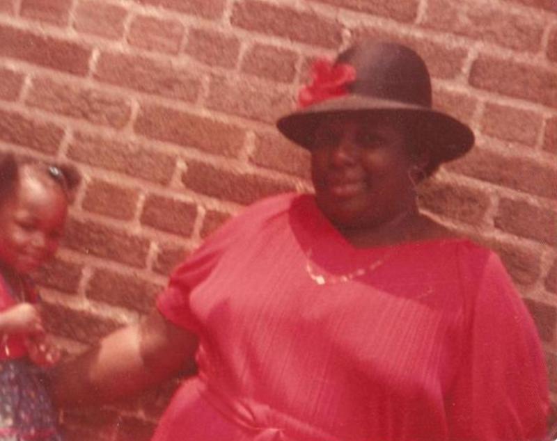 The elder Frances Walker (family photograph courtesy of the younger Frances Walker)