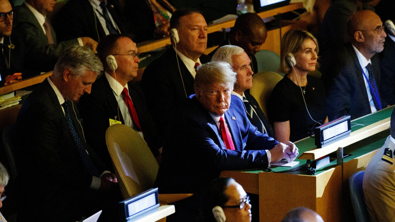 Trump Endures Nearly 15 Whole Minutes of UN Climate Summit