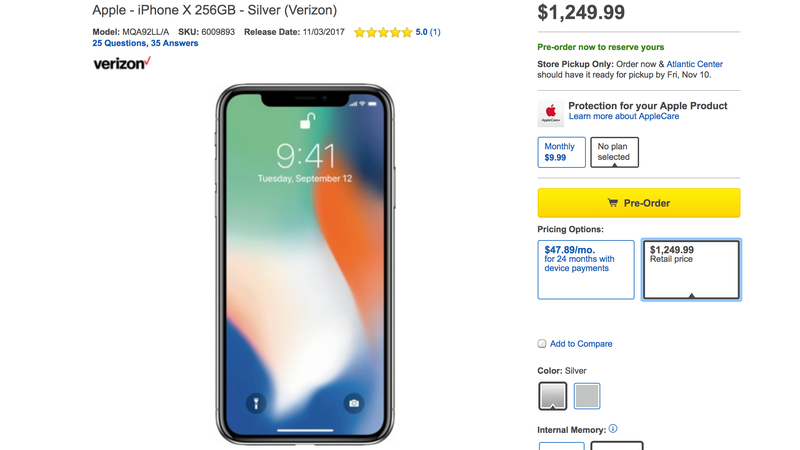 best buy is charging more for iphone x buyers who donu0027t want installment debt if you want to preorder the iphone x through best buy and pay for the whole