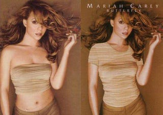 Illustration for article titled In Saudi Arabia, Photoshop Makes Mariah Carey Modest