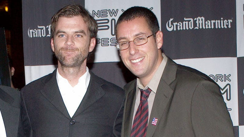 Sandler and Anderson in 2002