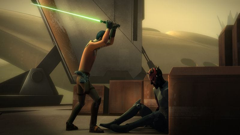 Illustration for article titled Ezra faces Maul and so much more on a taut, tense Star Wars Rebels