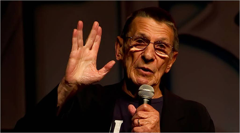 Illustration for article titled El actor Leonard Nimoy, Mr. Spock en Star Trek, muere a los 83 años