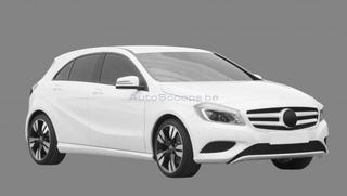 Illustration for article titled Mercedes-Benz A-Class suggests someone's a Mazda fan