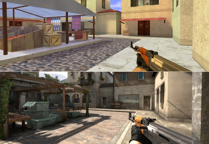 Illustration for article titled Modder Recreates Classic Counter-Strike In CSGO