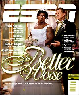 Illustration for article titled Ricky Williams Refuses to Hide from The Woman Trapped Inside Him