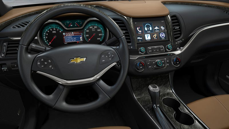 Illustration for article titled 2014 Chevy Impala: Press Photos