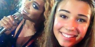 Beyoncé and fan (Tumblr)