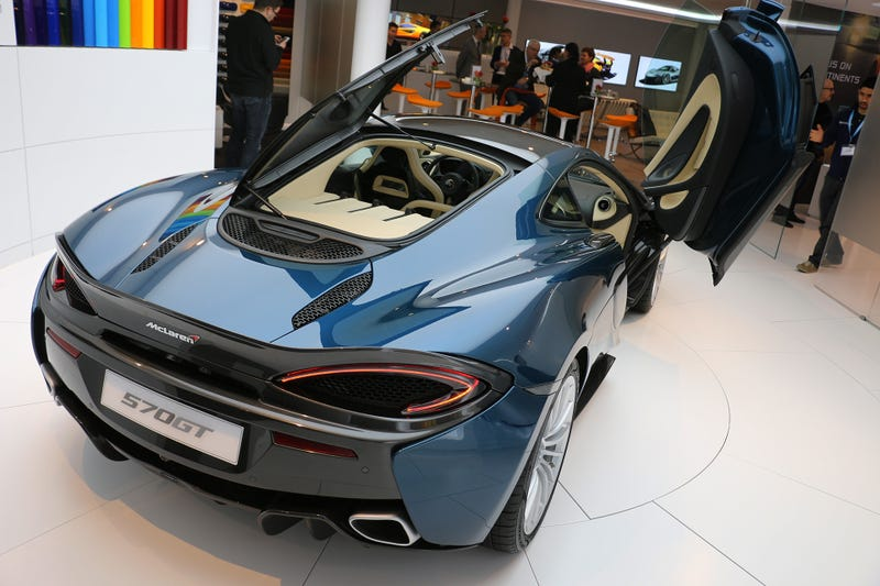 Illustration for article titled McLaren Is Building An Electric Car, Hybrids, A Smaller Engine And Lots Of Long Tails