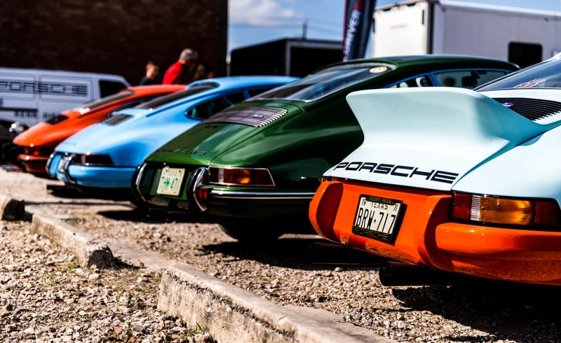 This Texas Event Has An Absurd Name But It Means Air Cooled Porsche Heaven