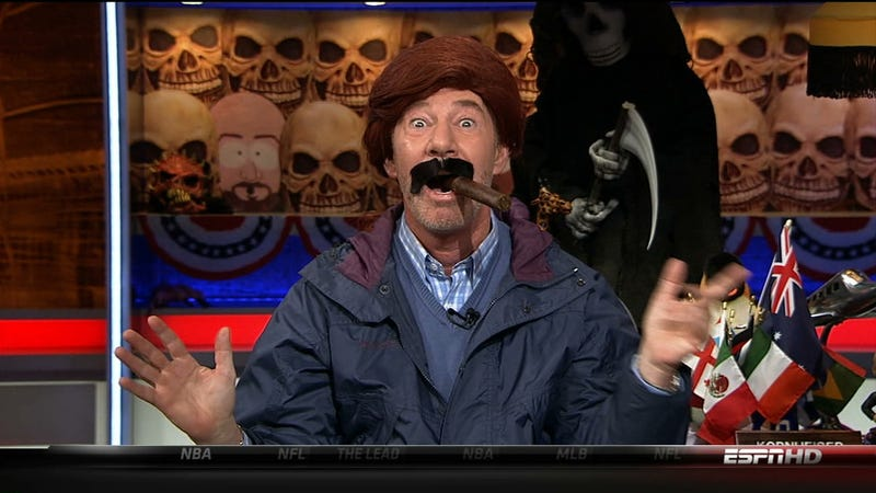 Illustration for article titled Kornheiser Takes To Talk Radio To Blast Web's Lack Of Craft And Nuance
