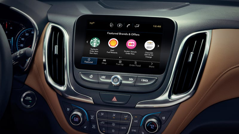 GM thinks you'll buy stuff through your car's dashboard