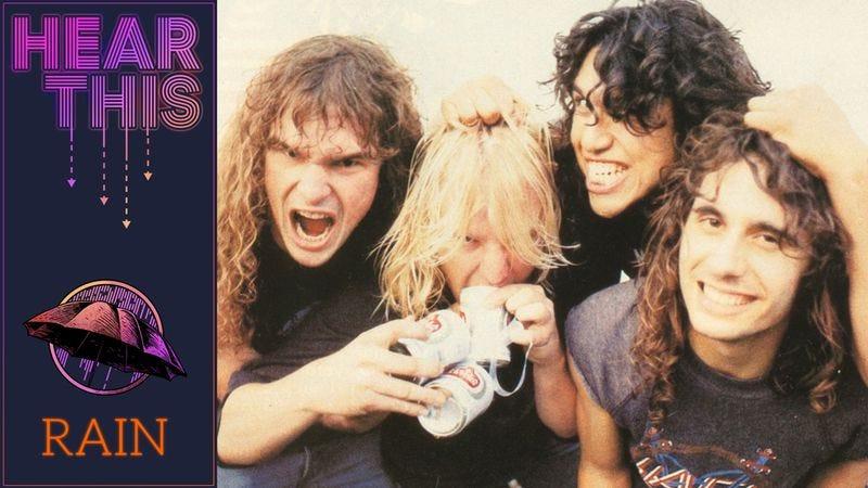 """Illustration for article titled With """"Raining Blood,"""" Slayer became thrash-metal elite"""