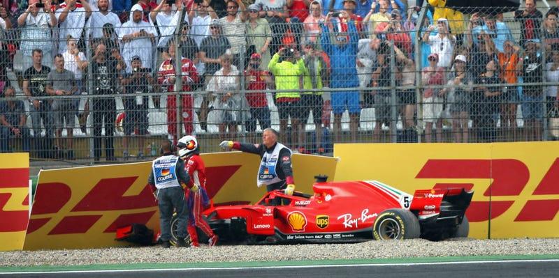 Illustration for article titled Is Sebastian Vettel a Choke Artist? A Very Short Debate