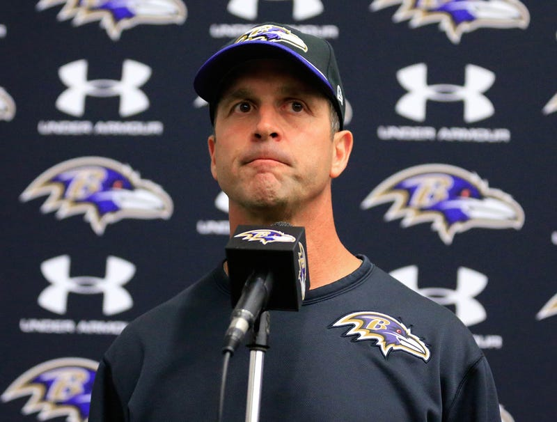 Illustration for article titled John Harbaugh: 'It's Hard To Watch Disturbing Footage Of Our Loss To The Bengals'