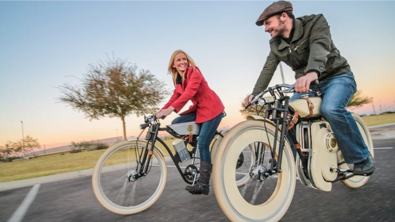 Illustration for article titled Local Motors' Next Project Is A Motorized Hipster Bike