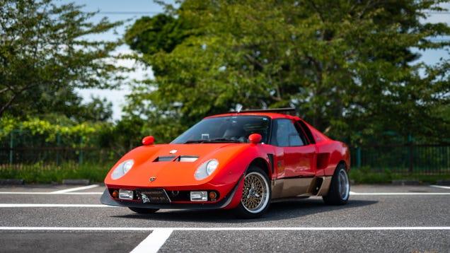 This Mad Tuner Genius Turned A Suzuki Into A Lamborghini Miura Jota