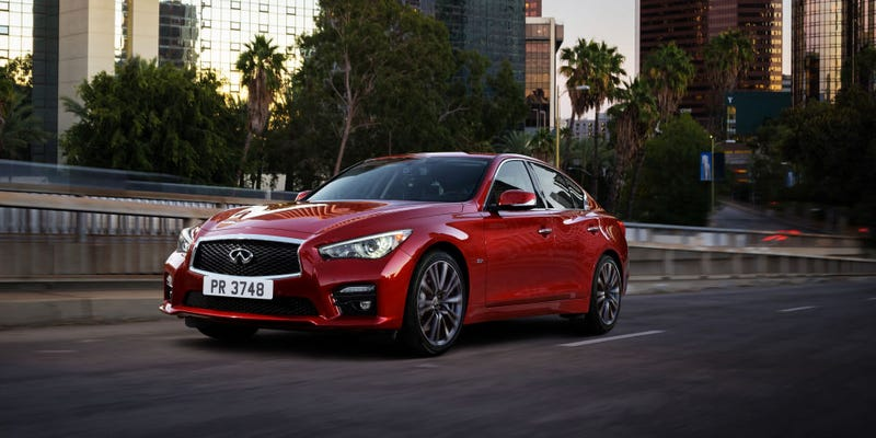 Illustration for article titled Hey, Oppo, why isn't everybody going mental over the Infiniti Q50 Red Sport 400?