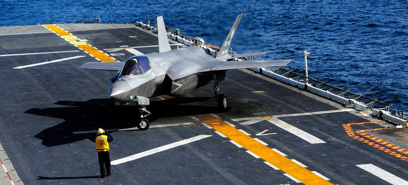 Illustration for article titled The F-35 Fleet Was Grounded Again for the Bajillionth Time