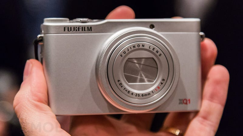 Illustration for article titled Fujifilm XQ1 Hands-On: A Canon Clone With Better Guts