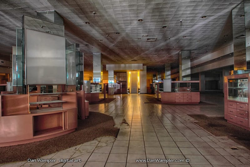 Illustration for article titled This Abandoned Mall Is Perfect for Your Zombie Back to School Shopping