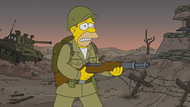 The Simpsons finds the sweet spot as Grampa confronts an old