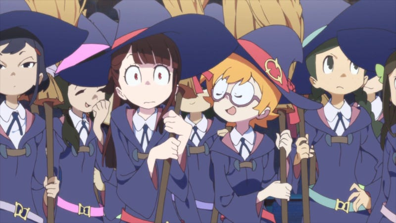 Illustration for article titled Little Witch Academia 2 Is Now Officially Funded. Hooray!