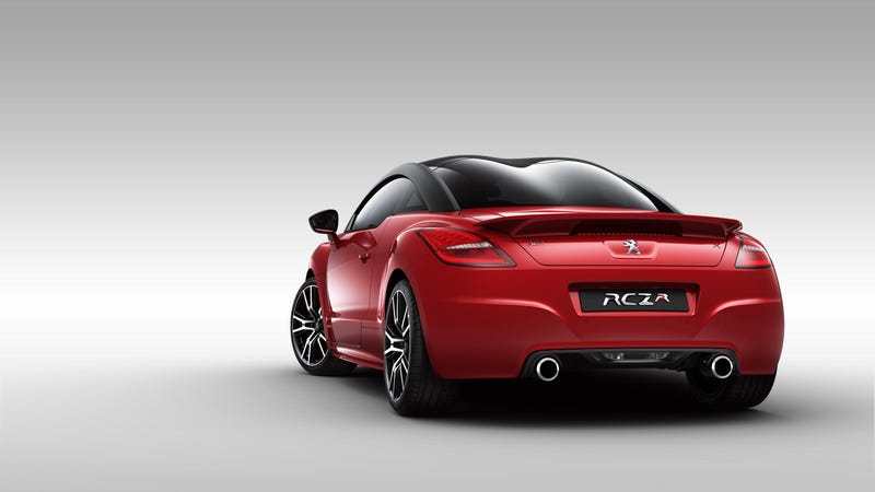 Illustration for article titled The RCZ R Is The Most Powerful Peugeot Road Car Ever