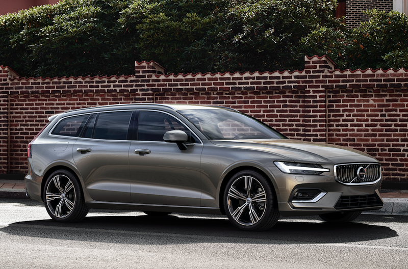 The 2019 Volvo V60 Is A Gorgeous 390 Horsepower Hybrid Wagon