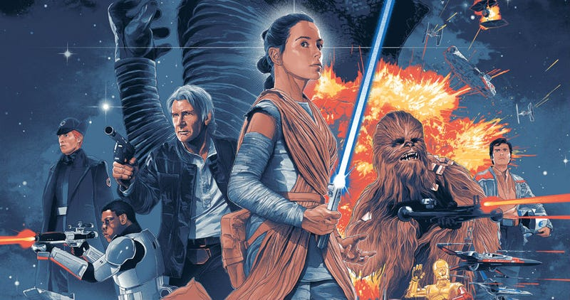 Illustration for article titled You Thought You Were Done Buying Force Awakens Stuff? Think Again