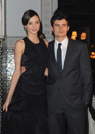 Illustration for article titled Orlando Bloom & Miranda Kerr Are Engaged; Fat Joe Accused Of Sexual Assault