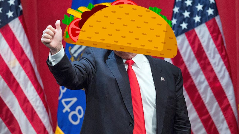 Illustration for article titled Trump Supporters Claim They Were Kicked out of a Mexican Restaurant for Their Political Beliefs