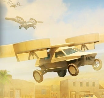 Illustration for article titled DARPA developing a robotic pilot for their flying car