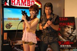 Illustration for article titled Magical Segata Sanshiro Mullet Makes Rambo Return
