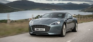 Illustration for article titled ​Aston Martin Considering Selling Electric Rapide In Two To Three Years