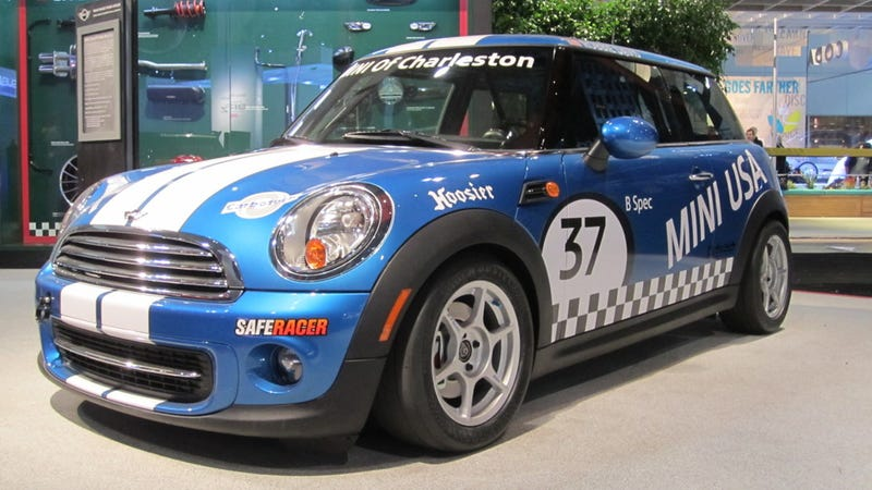 Illustration for article titled Mini joins the B-Spec class that will save auto racing