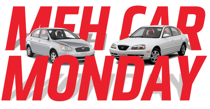 Illustration for article titled Meh Car Monday: Try And Stay Awake While We Talk About Early 2000s Hyundais